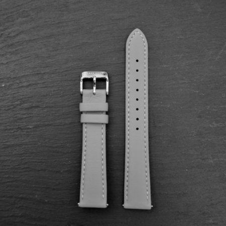 "Echtleder Armband ""Slate Grey Elegance"" Damen"