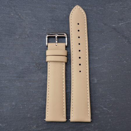 """Echtleder Armband """"Beige Elegance"""""""